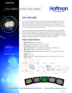 Compact Floodlight Series data sheet