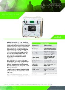 Digital NVD Test Set data sheet