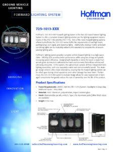 Forward Lighting System data sheet