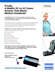 Medical Grade Power Inverter