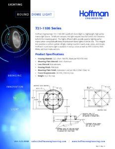 Round Dome Light data sheet